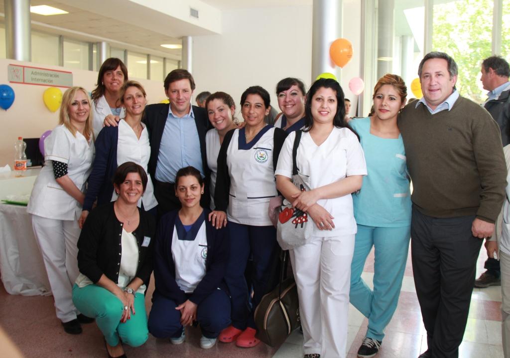 Emotivo festejo por el primer aniversario del Hospital Municipal San Miguel Arcángel
