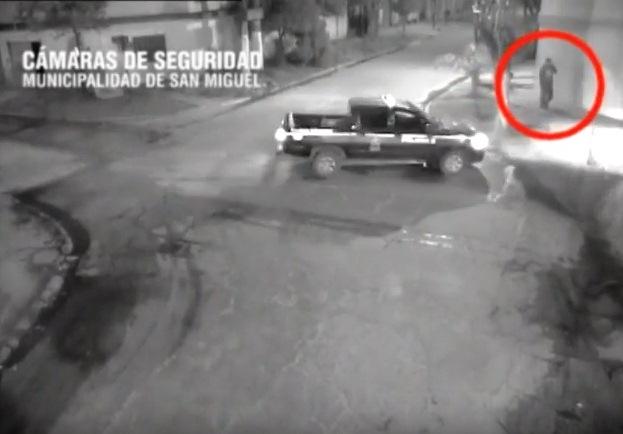 Atrapan in fraganti a un ladrón de comercios en San Miguel