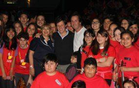 Jaime Méndez participó del XVI Encuentro Internacional de Orquestas Juveniles