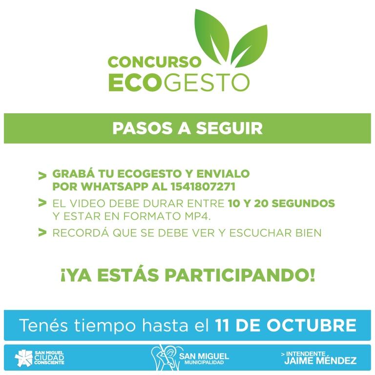 Bases y condiciones Ecogestos- Concurso