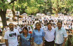 Jaime Méndez participó de la IV Maratón por la Concientización de la Ceguera