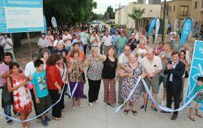 Inauguración de la calle Charlone