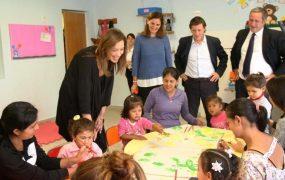 La Gobernadora visitó un CDIF de San Miguel