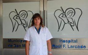 La nueva directora del Hospital Larcade