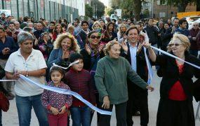 Nuevo pavimento en Muñiz
