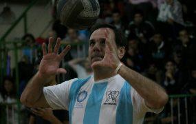 Javier Weber en el Club San Miguel