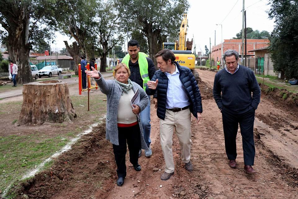 Obras de infraestructura en Santa Brígida