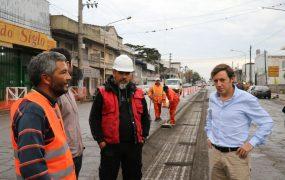 Repavimentación de avenidas principales