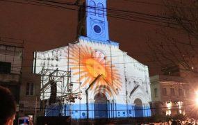 Mapping con proyección 3D sobre la Catedral