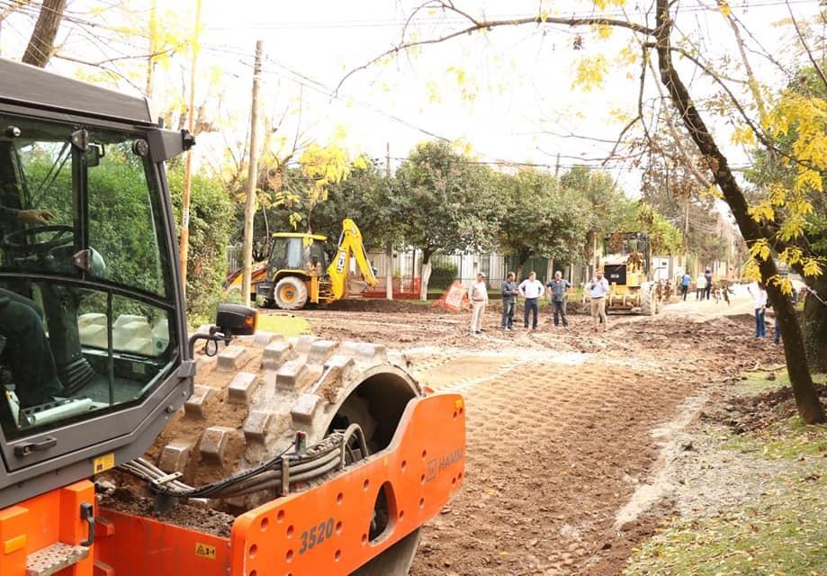 Arrancaron las pavimentaciones de Roca y Libertad