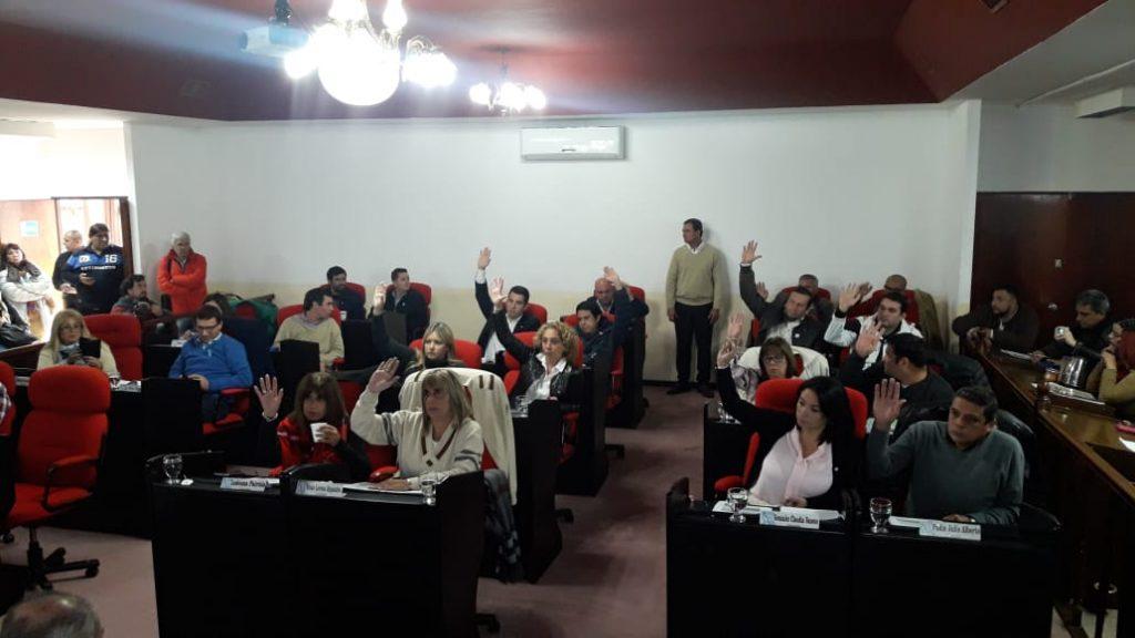 Concejo Deliberante aprobó la rendición de cuentas 2017