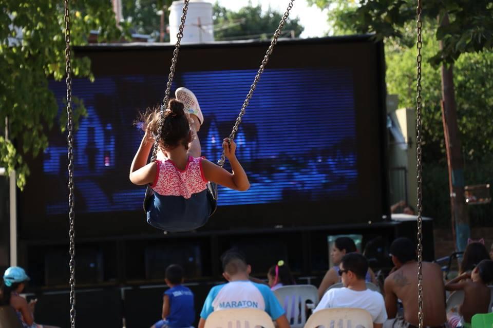 Cine en los barrios 2019