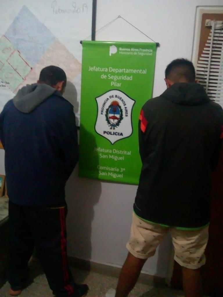 4 detenidos por tenencia de drogas