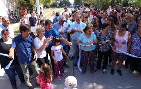 Nuevos pavimentos en barrio San Ignacio