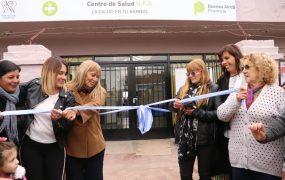 Se inauguró la renovación del centro de salud de barrio Manuelita