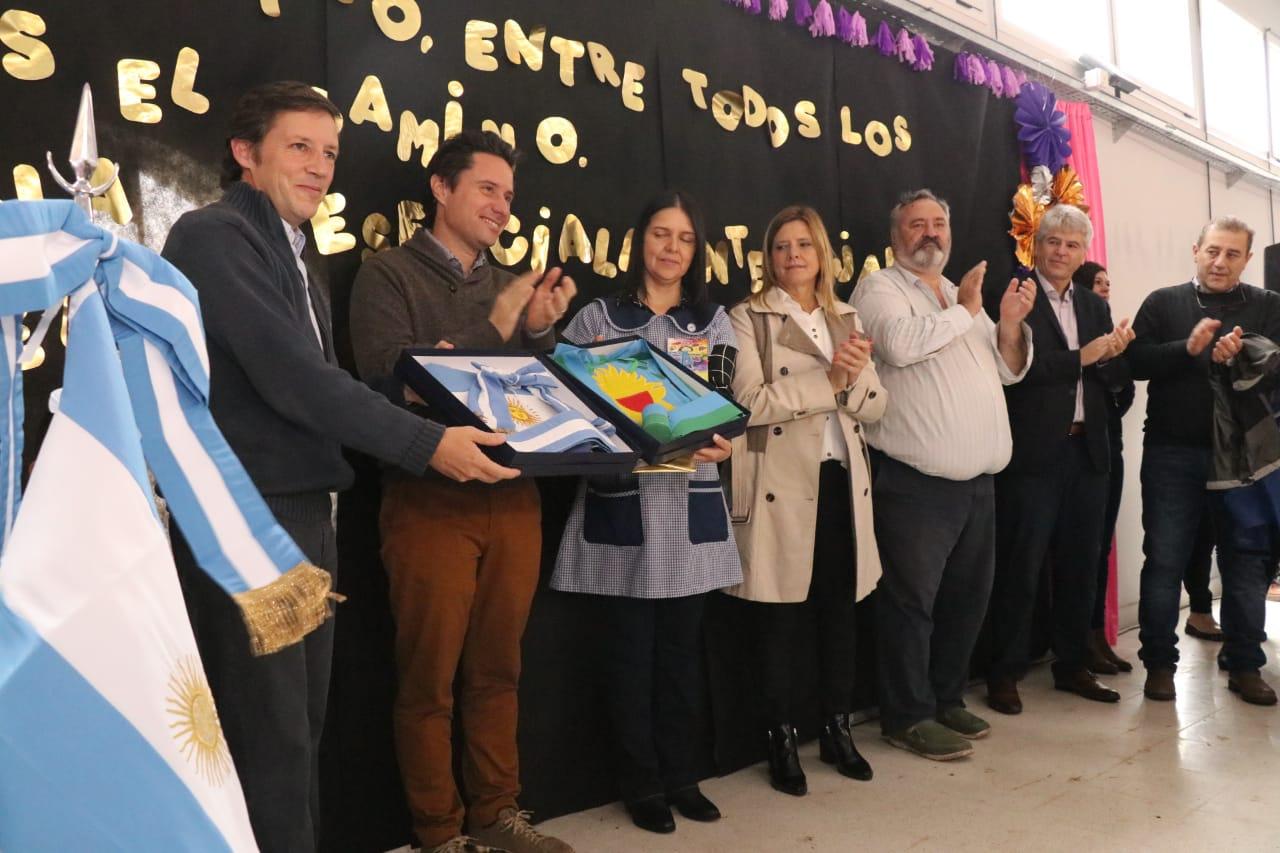 Jaime Méndez y Gabriel Sánchez Zinny inauguraron otro jardín de infantes