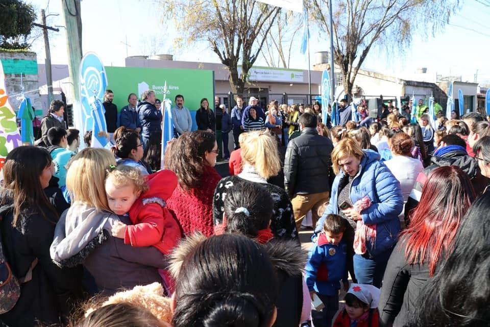 Jaime Méndez inauguró la puesta en valor del centro de salud de barrio Los Paraísos