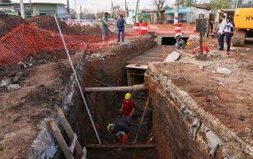Nuevas obras hidráulicas en Santa Brígida y Mariló