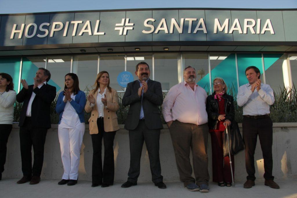 En Santa María, Jaime Méndez inauguró el tercer hospital municipal